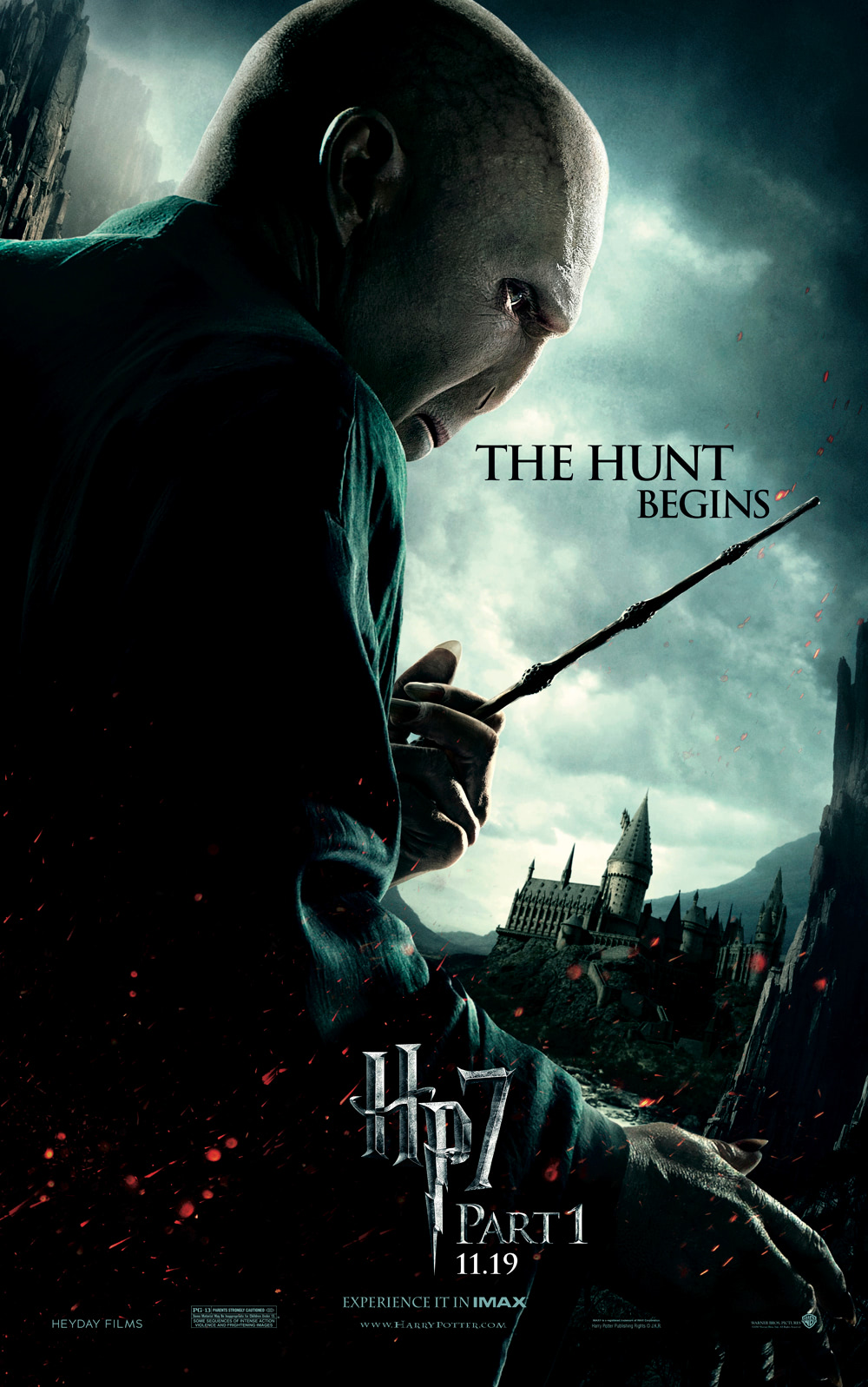 'Deathly Hallows: Part 1' Voldemort poster