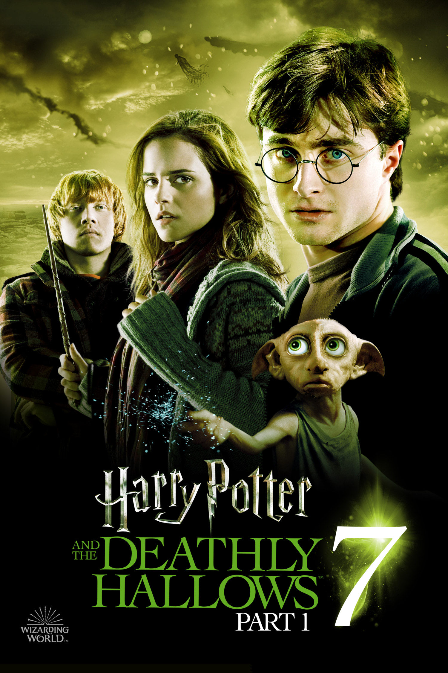 'Deathly Hallows: Part 1' Wizarding World poster