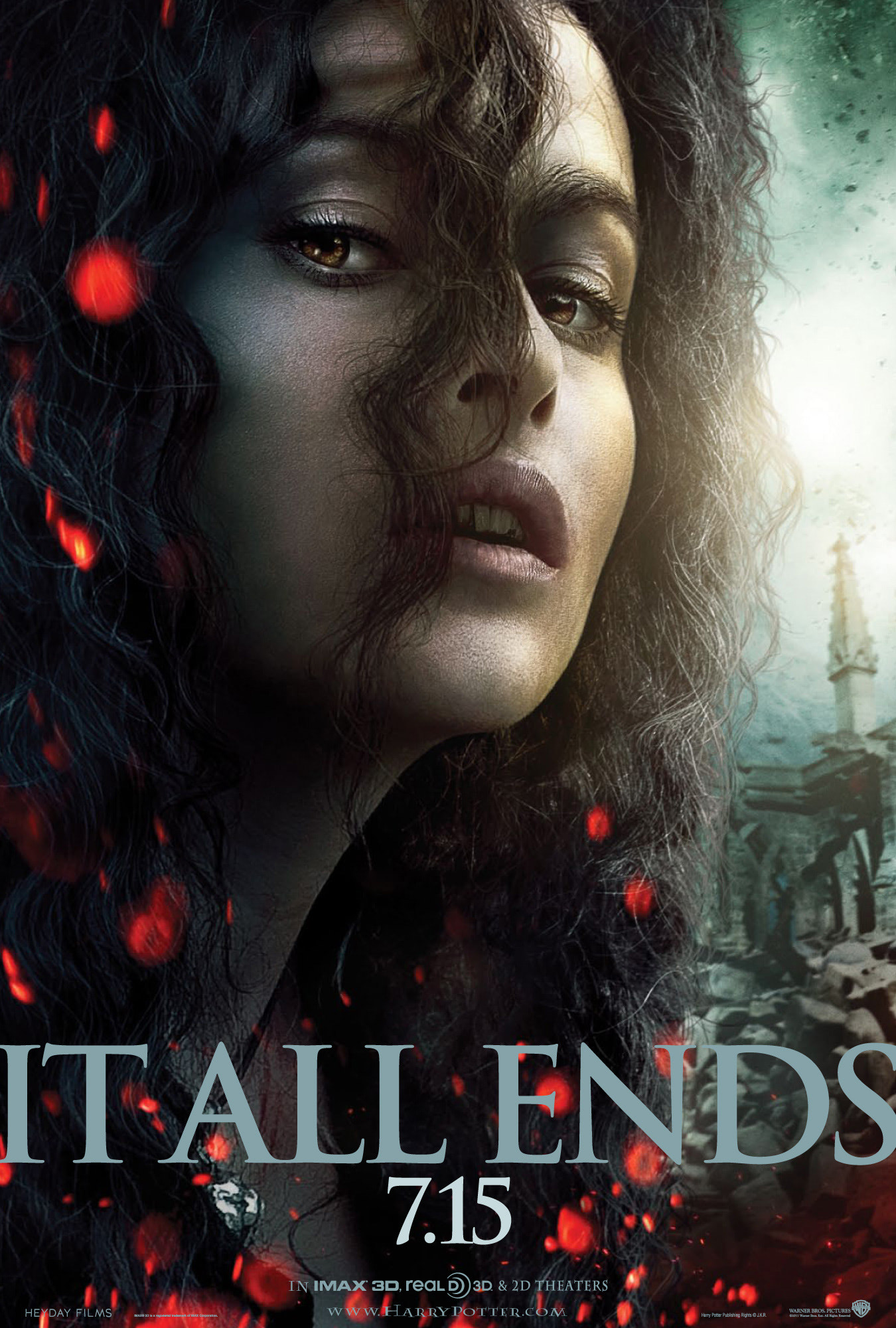 'Deathly Hallows: Part 2' Bellatrix poster #2