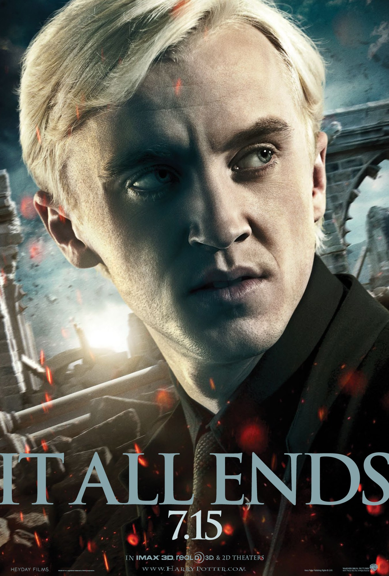 'Deathly Hallows: Part 2' Draco poster #2