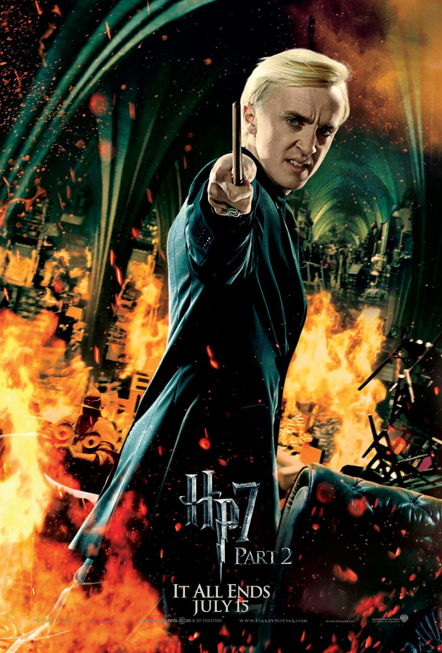 'Deathly Hallows: Part 2' Draco poster