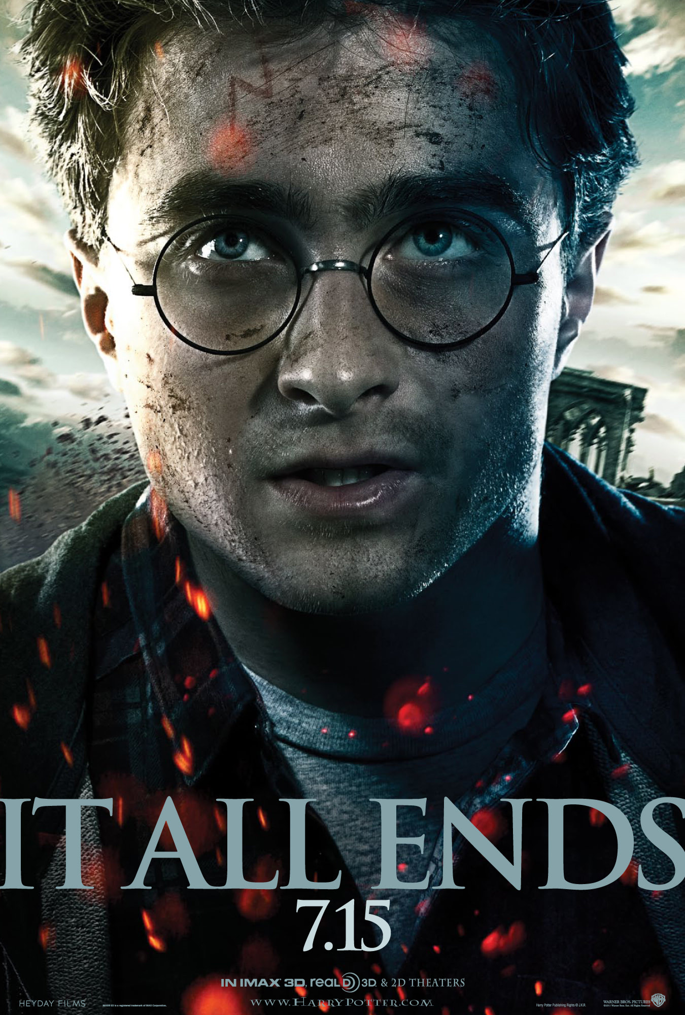 'Deathly Hallows: Part 2' Harry poster #2
