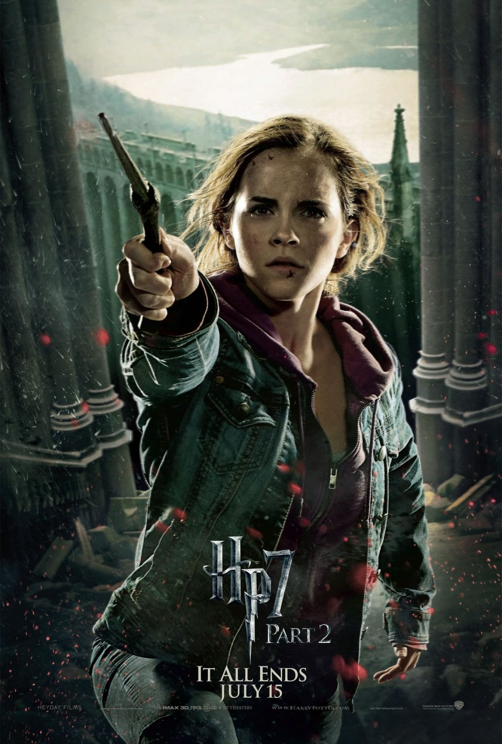 'Deathly Hallows: Part 2' Hermione poster