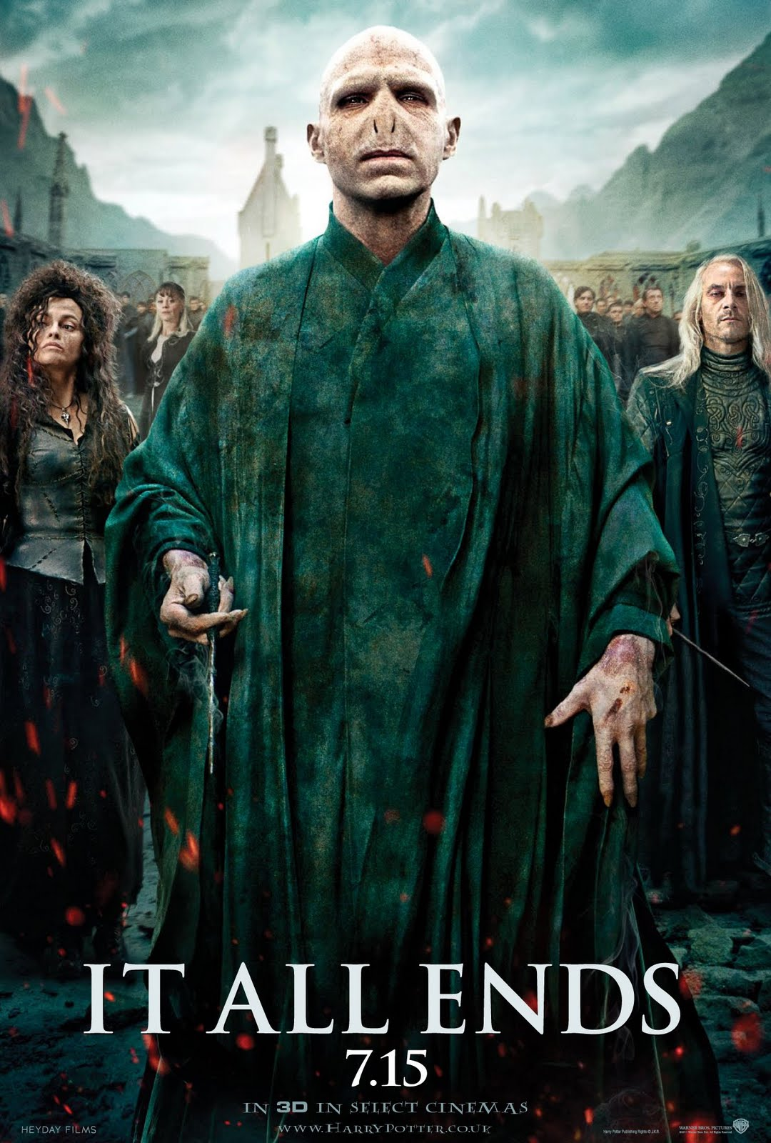 'Deathly Hallows: Part 2' 'It All Ends' poster #2