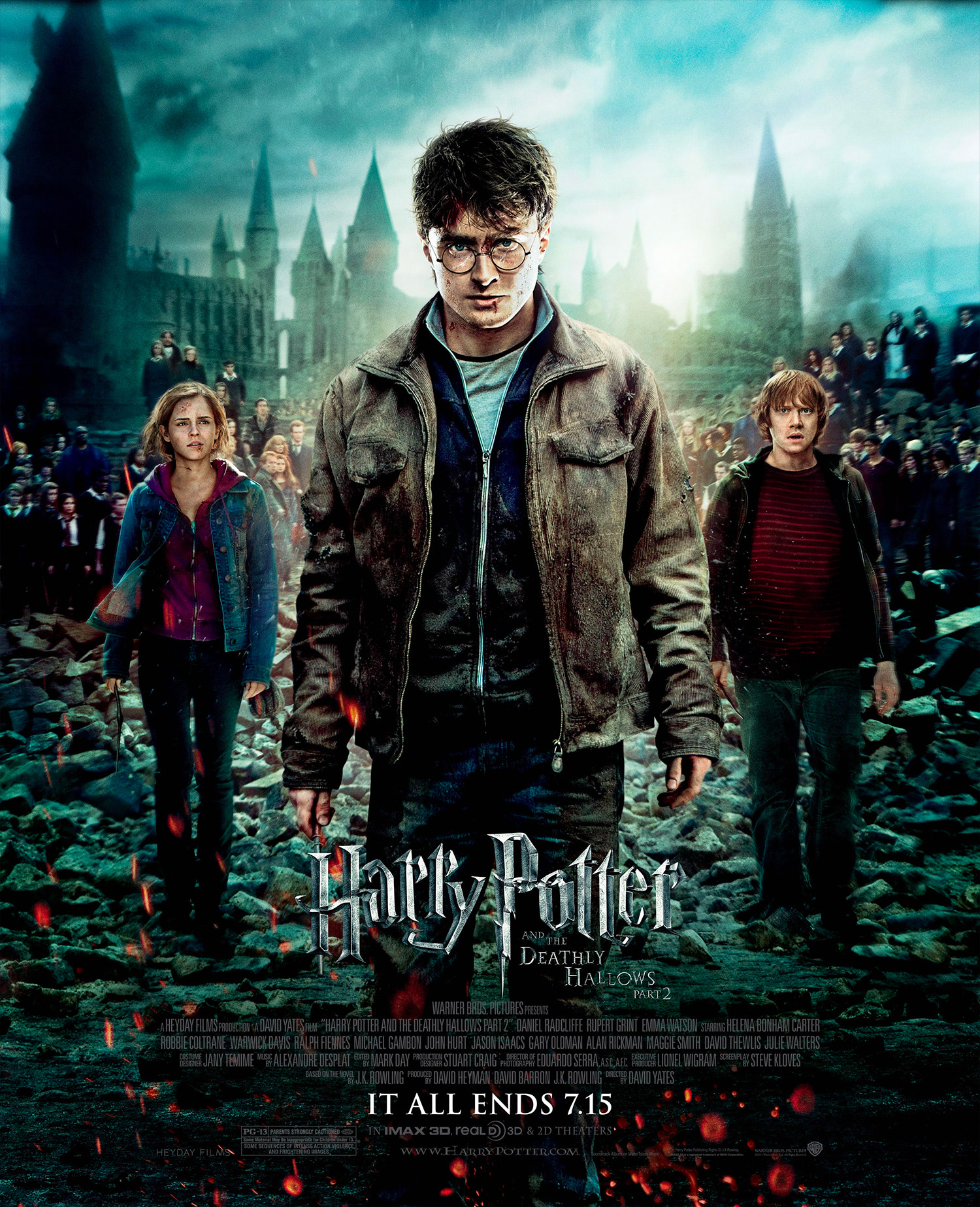 'Deathly Hallows: Part 2' 'It All Ends' poster