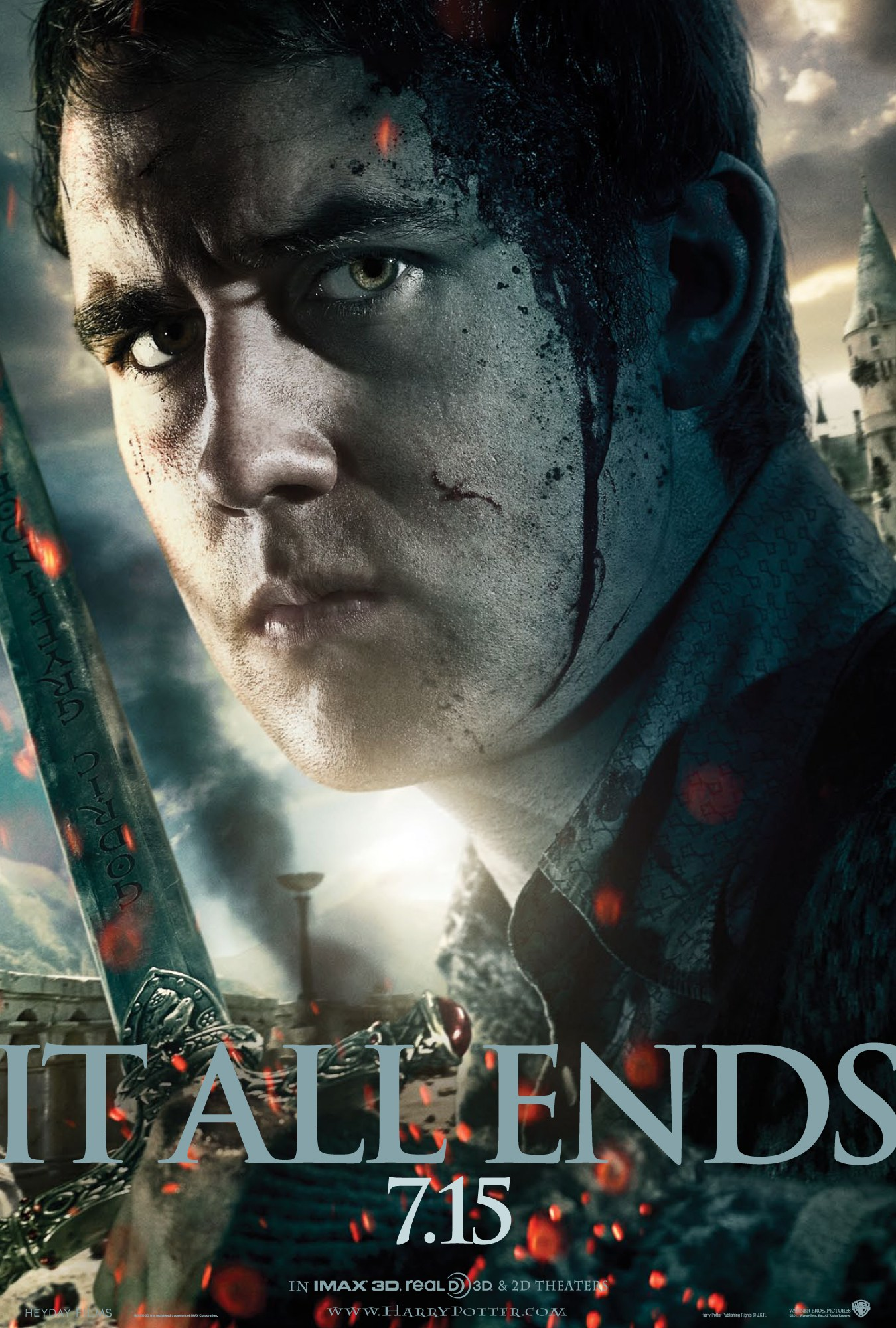 'Deathly Hallows: Part 2' Neville poster #2