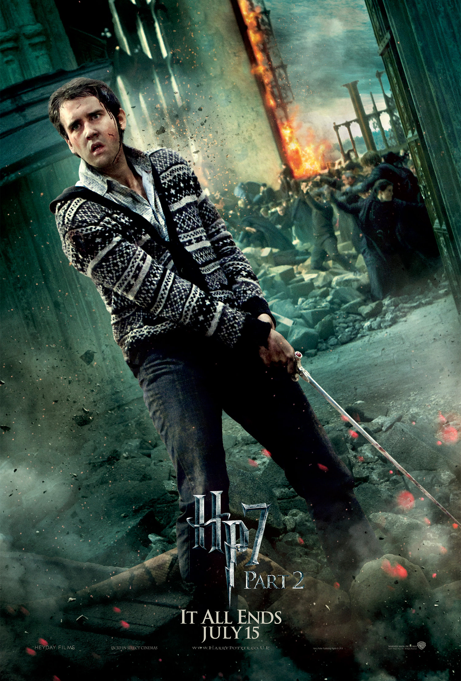 'Deathly Hallows: Part 2' Neville poster