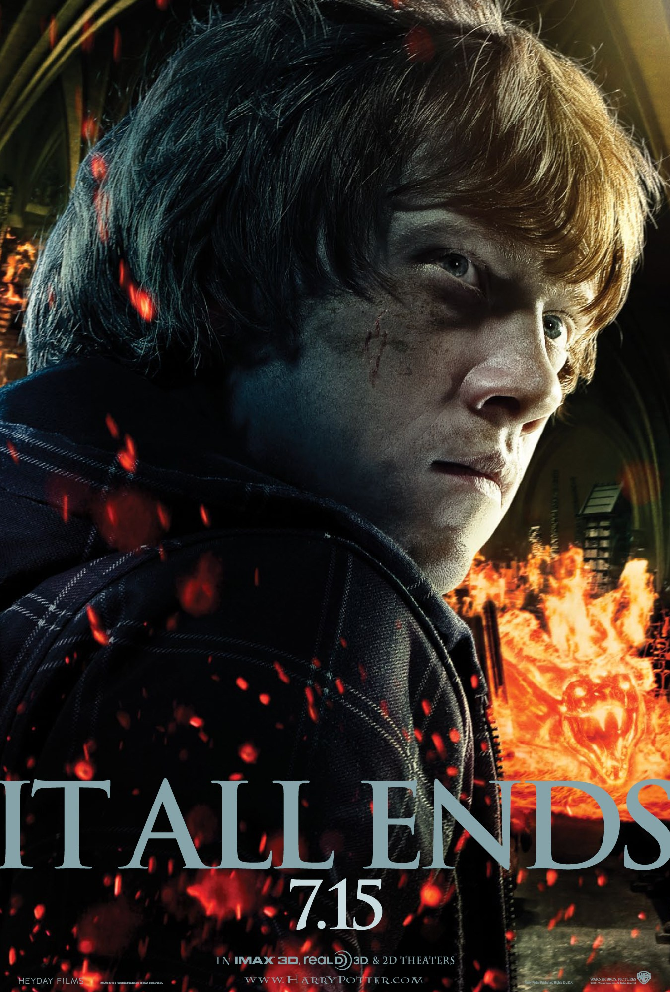 'Deathly Hallows: Part 2' Ron poster #2