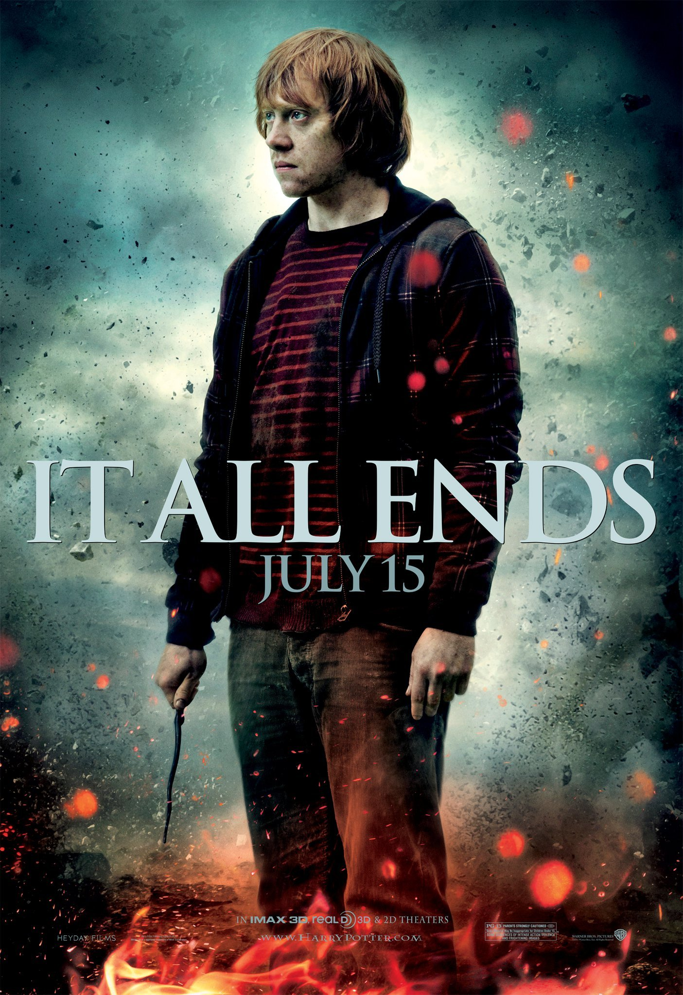 'Deathly Hallows: Part 2' Ron poster #3