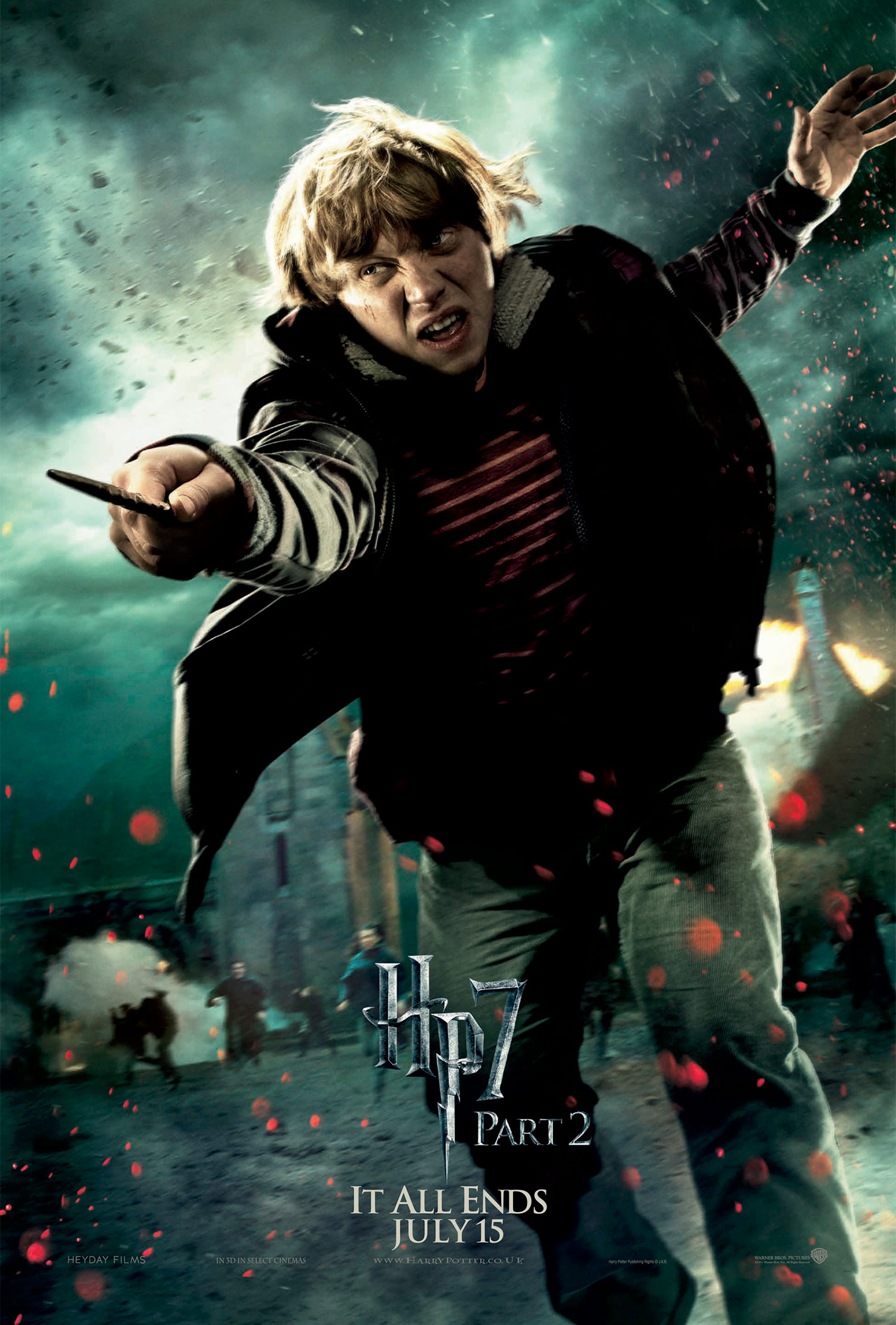 'Deathly Hallows: Part 2' Ron poster