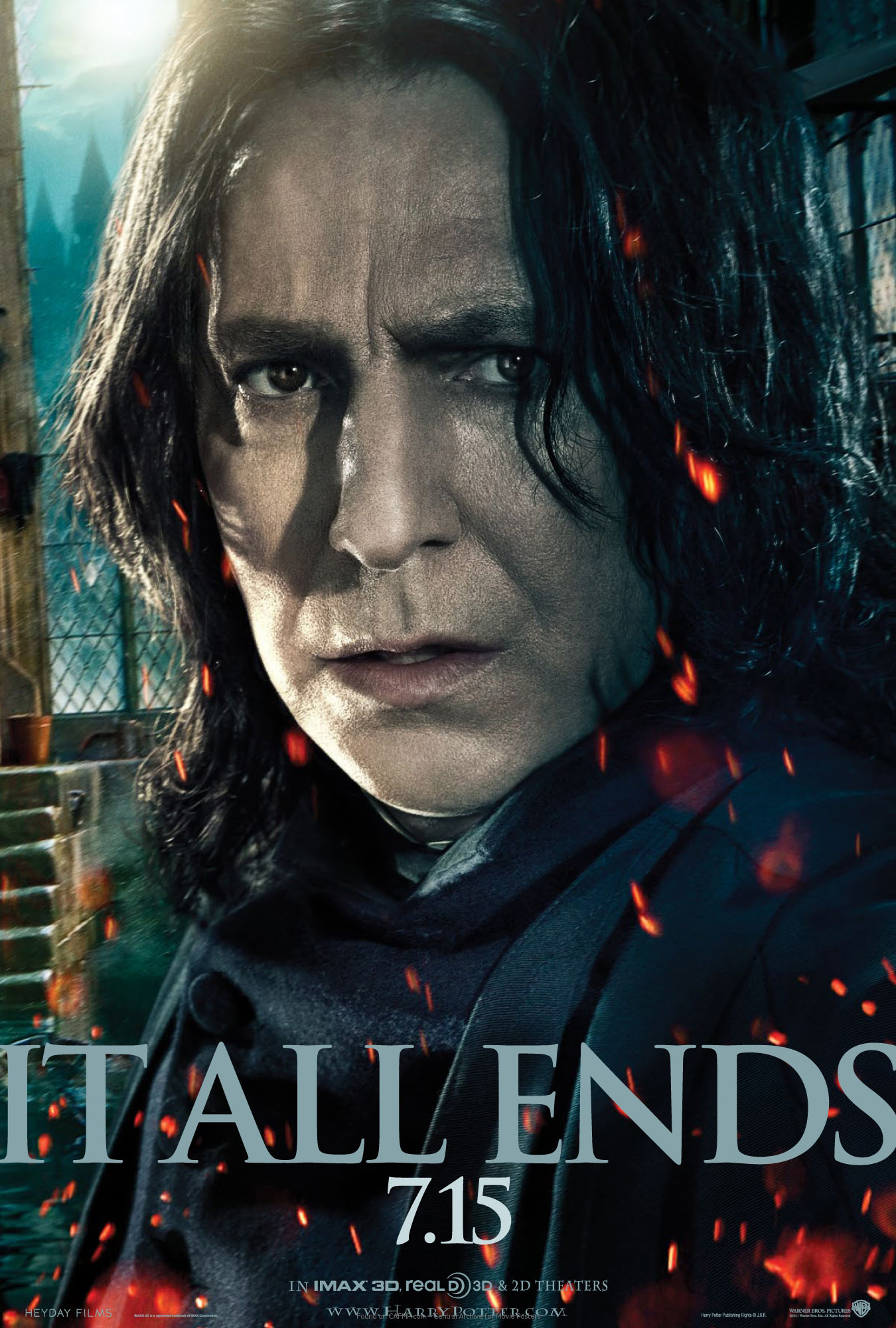 'Deathly Hallows: Part 2' Snape poster #2