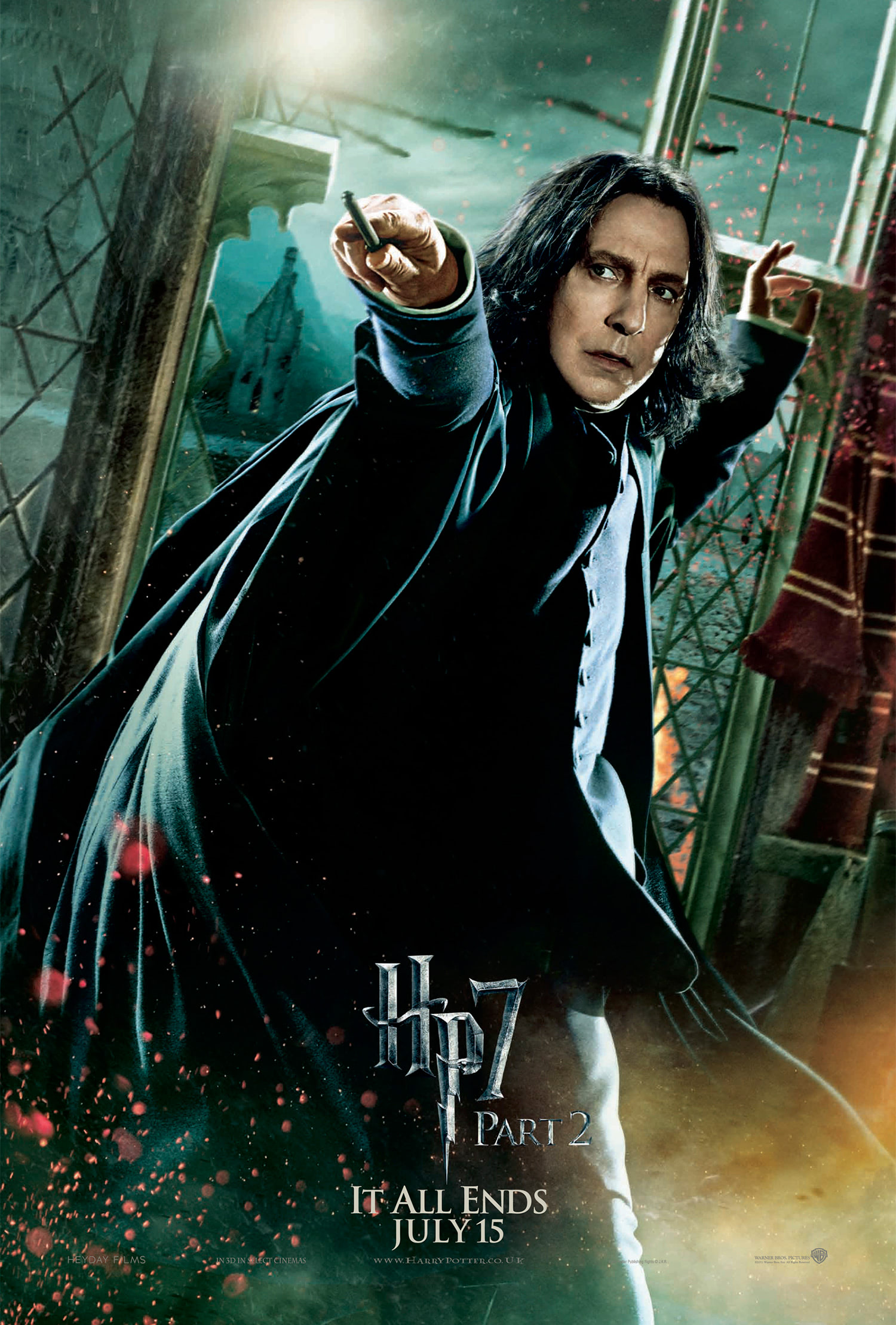 'Deathly Hallows: Part 2' Snape poster