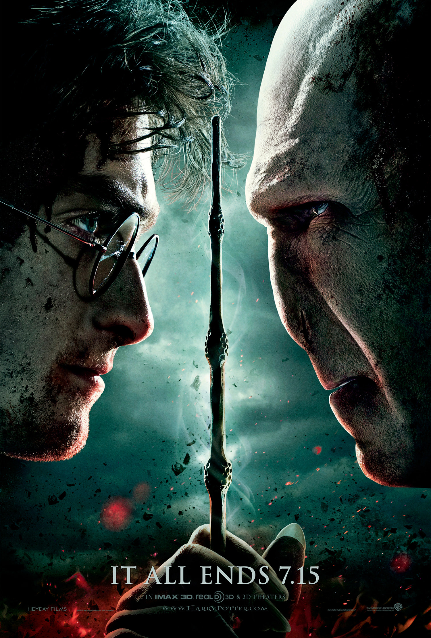 'Deathly Hallows: Part 2' theatrical poster