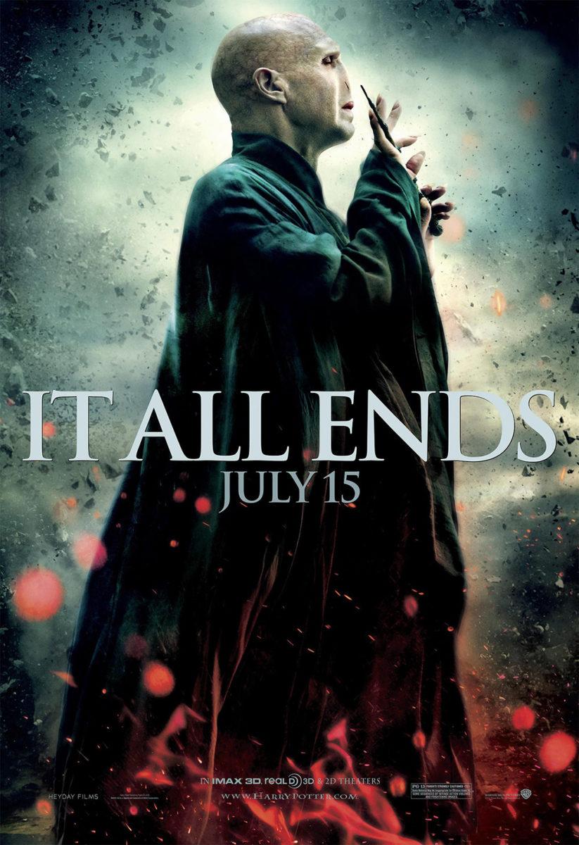 'Deathly Hallows: Part 2' Voldemort poster #2
