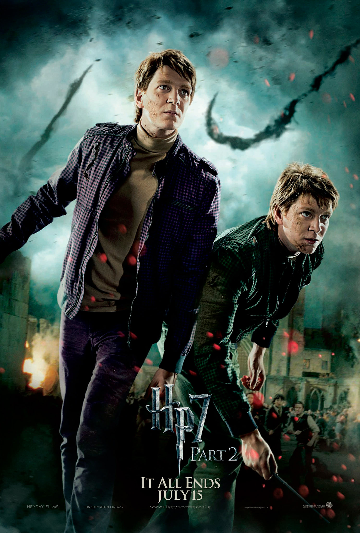 'Deathly Hallows: Part 2' Weasley Twins poster