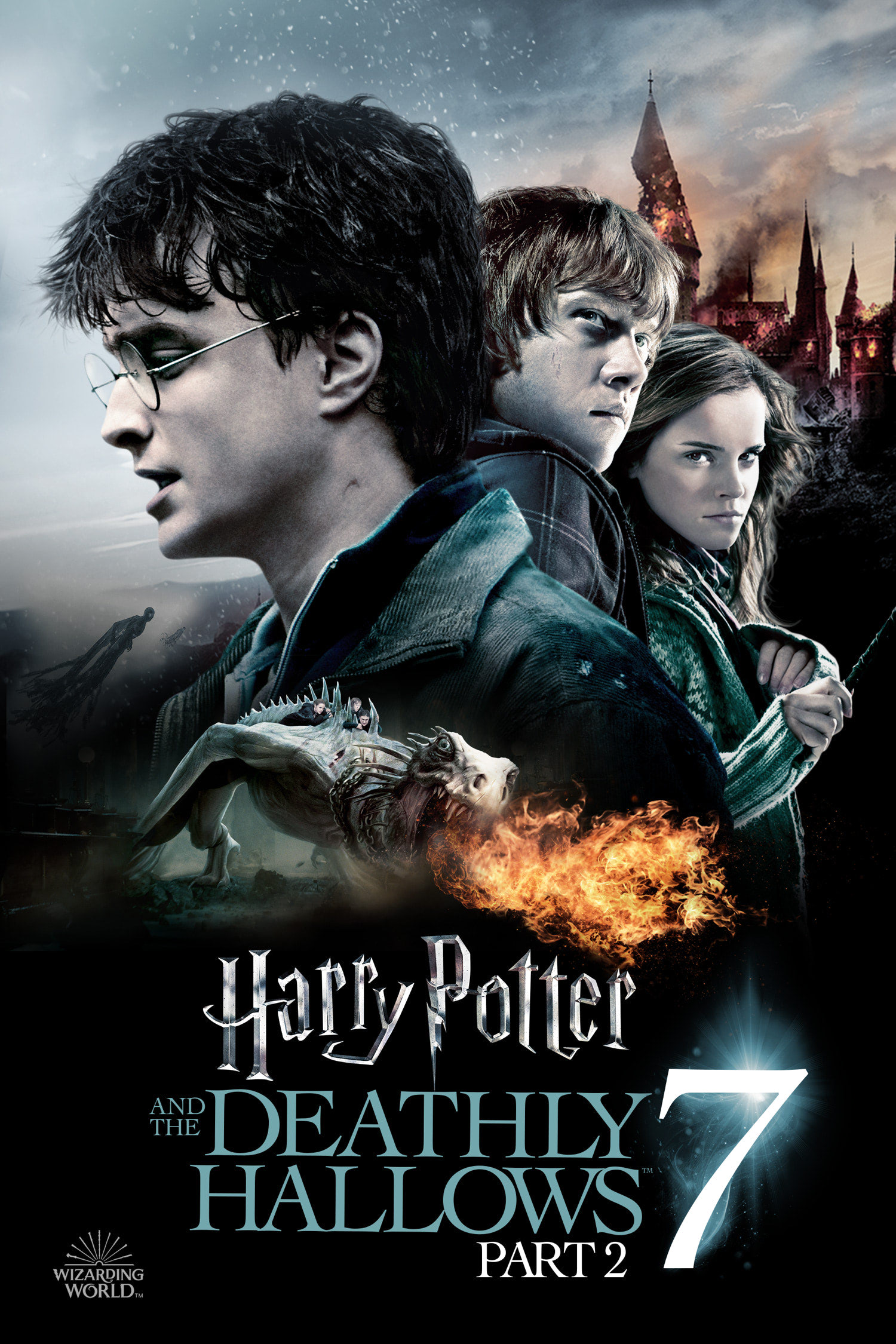 'Deathly Hallows: Part 2' Wizarding World poster