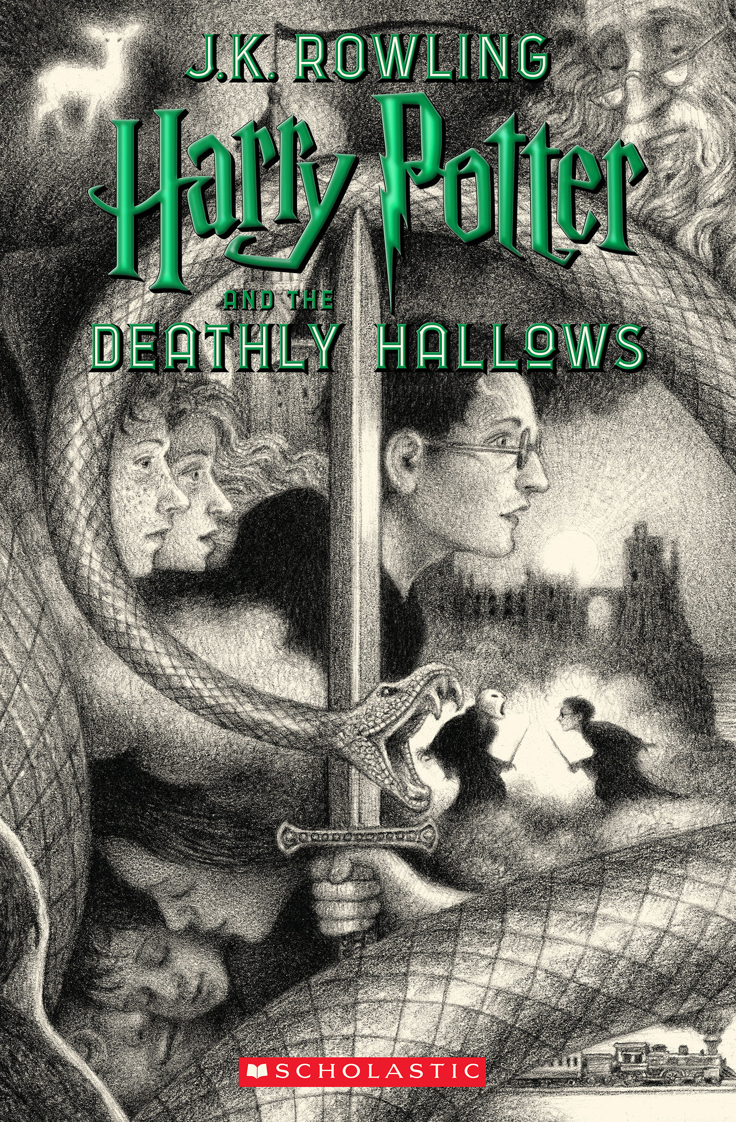 'Deathly Hallows' US 20th anniversary edition