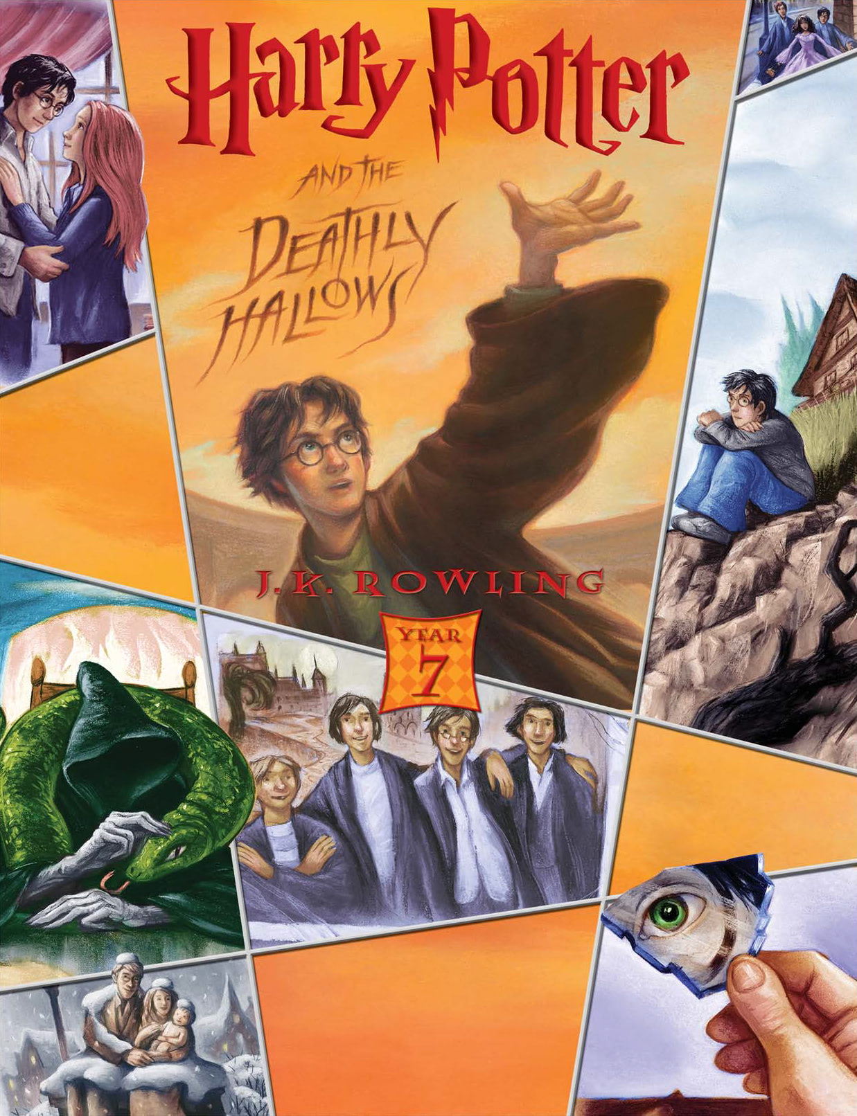 'Deathly Hallows' (Year 7) Scholastic promotional poster