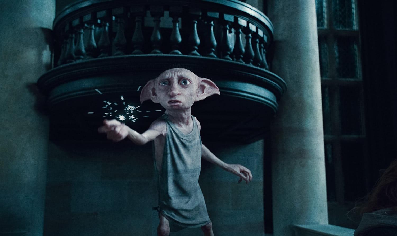Dobby in Malfoy Manor