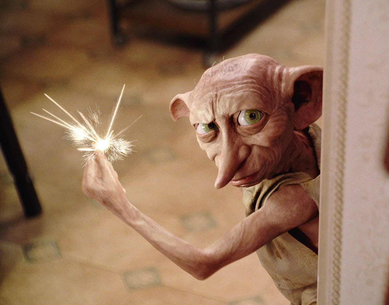 Dobby snaps his fingers
