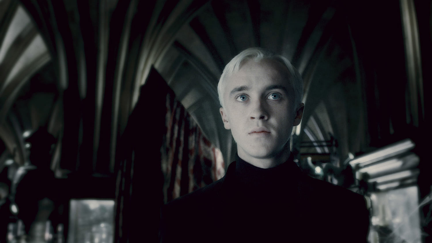 Draco in the Room of Requirement