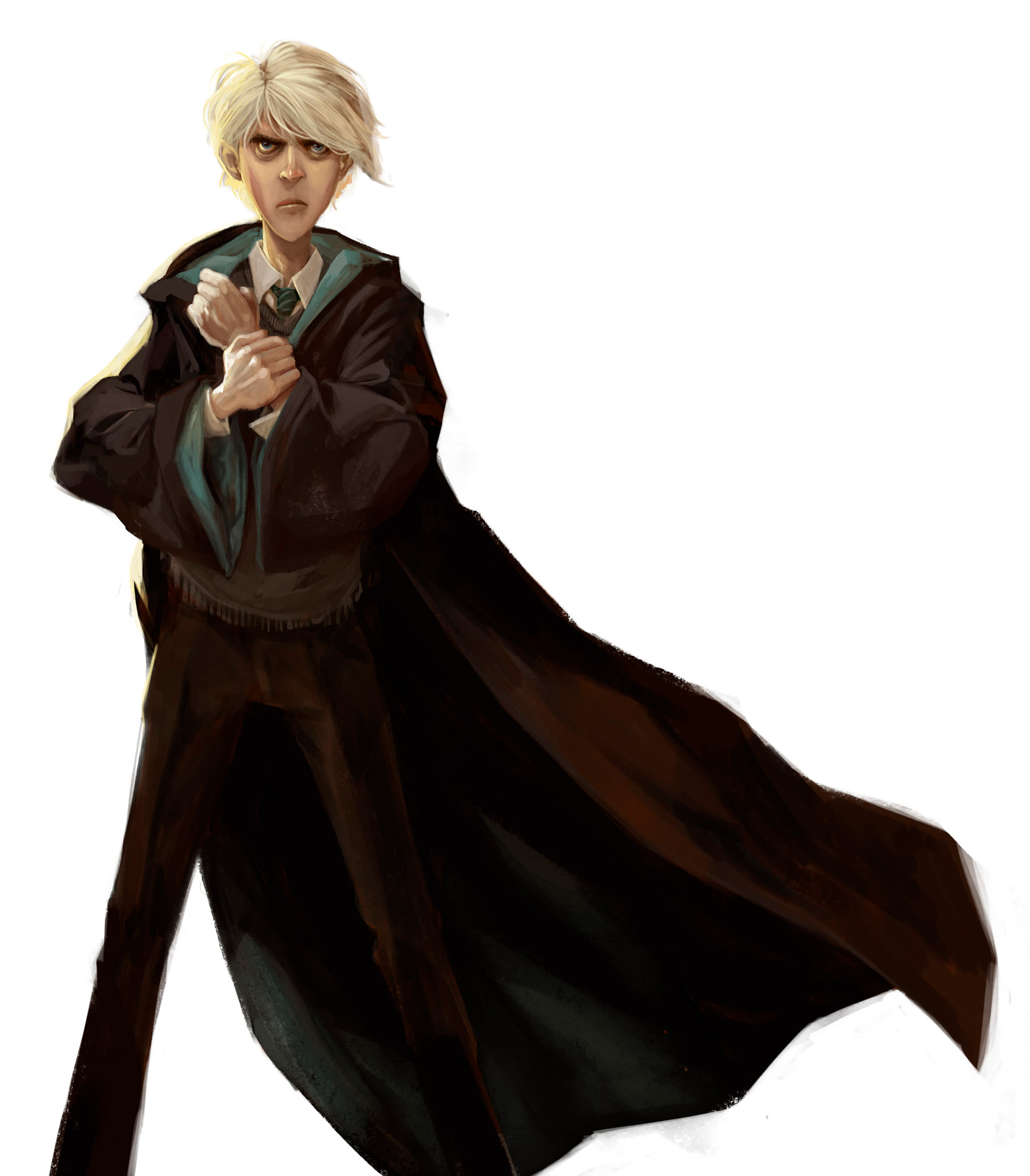 Draco Malfoy (Jonny Duddle illustration)