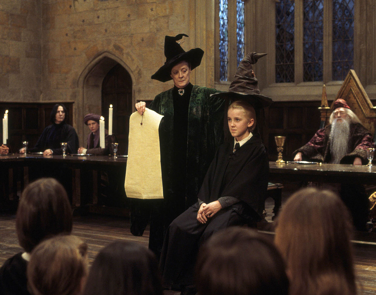 Draco Malfoy and the Sorting Hat
