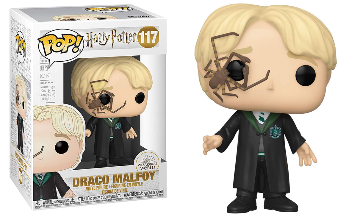 Draco Malfoy (With Whip Spider) Pop! Vinyl