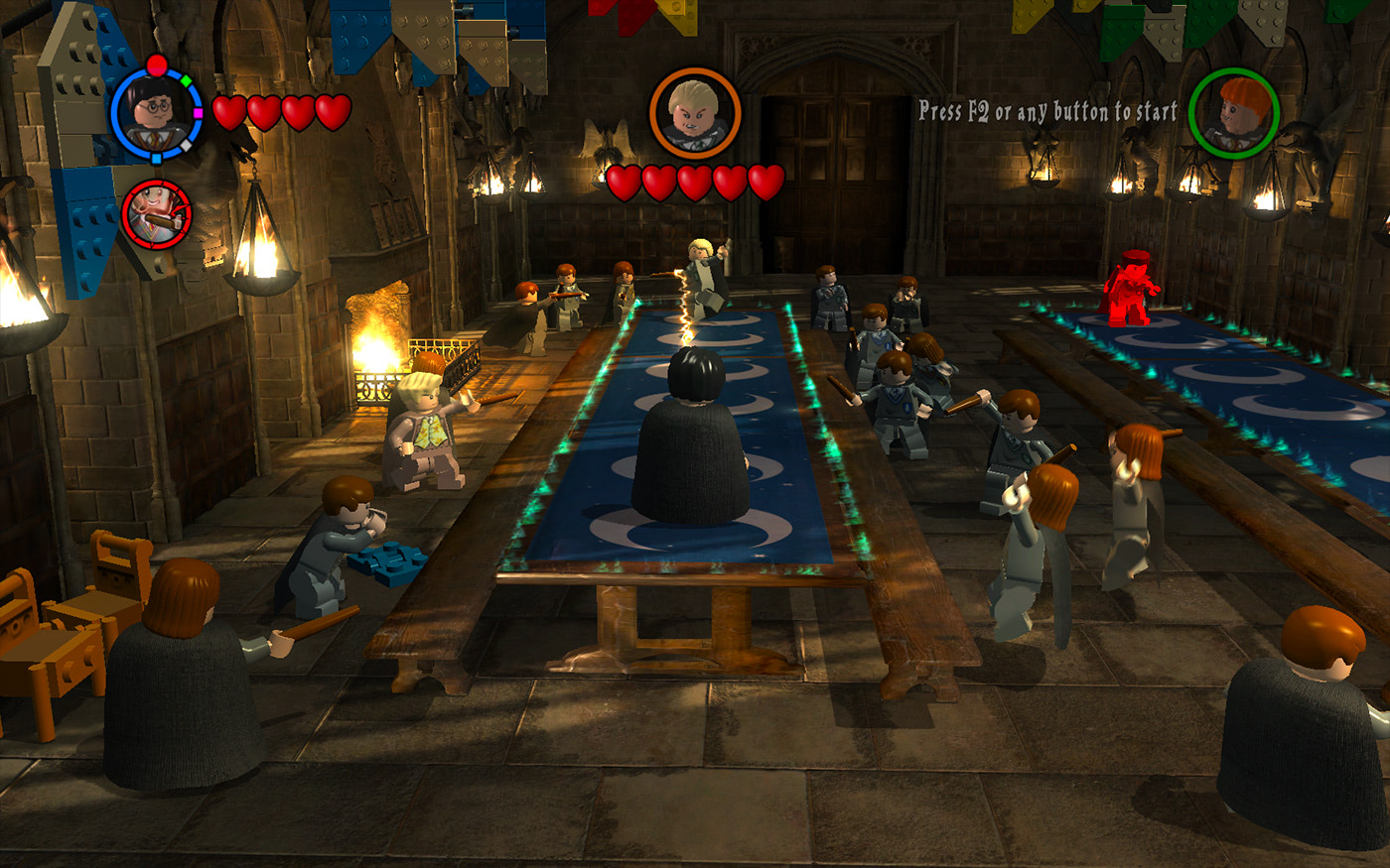 The Dueling Club (LEGO Harry Potter: Years 1-4)