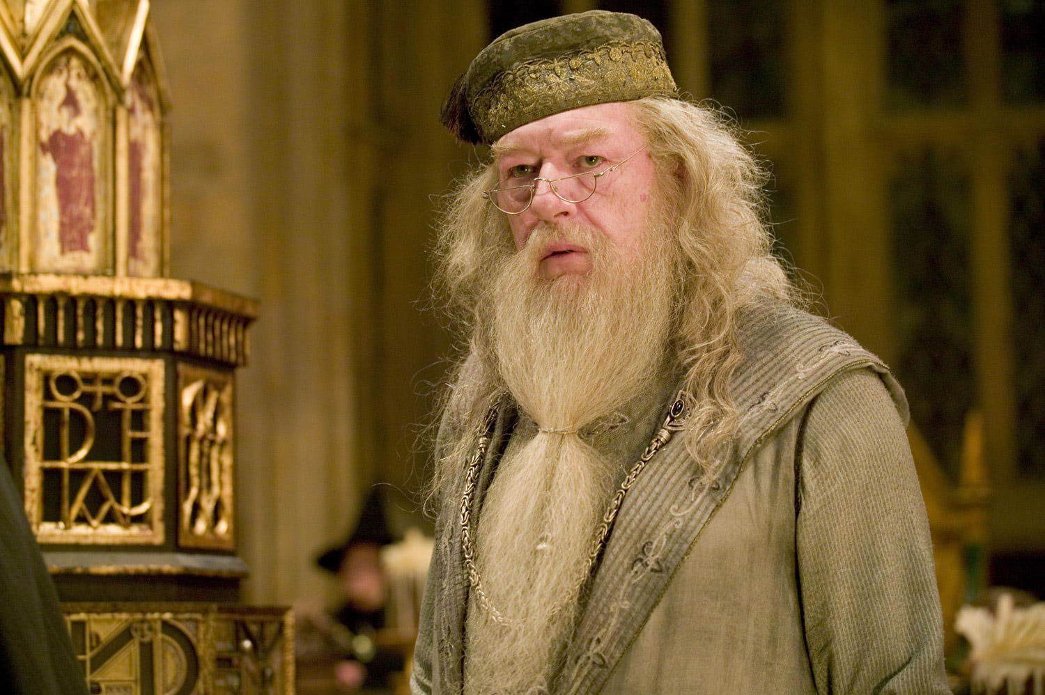 Dumbledore before the Triwizard Tournament