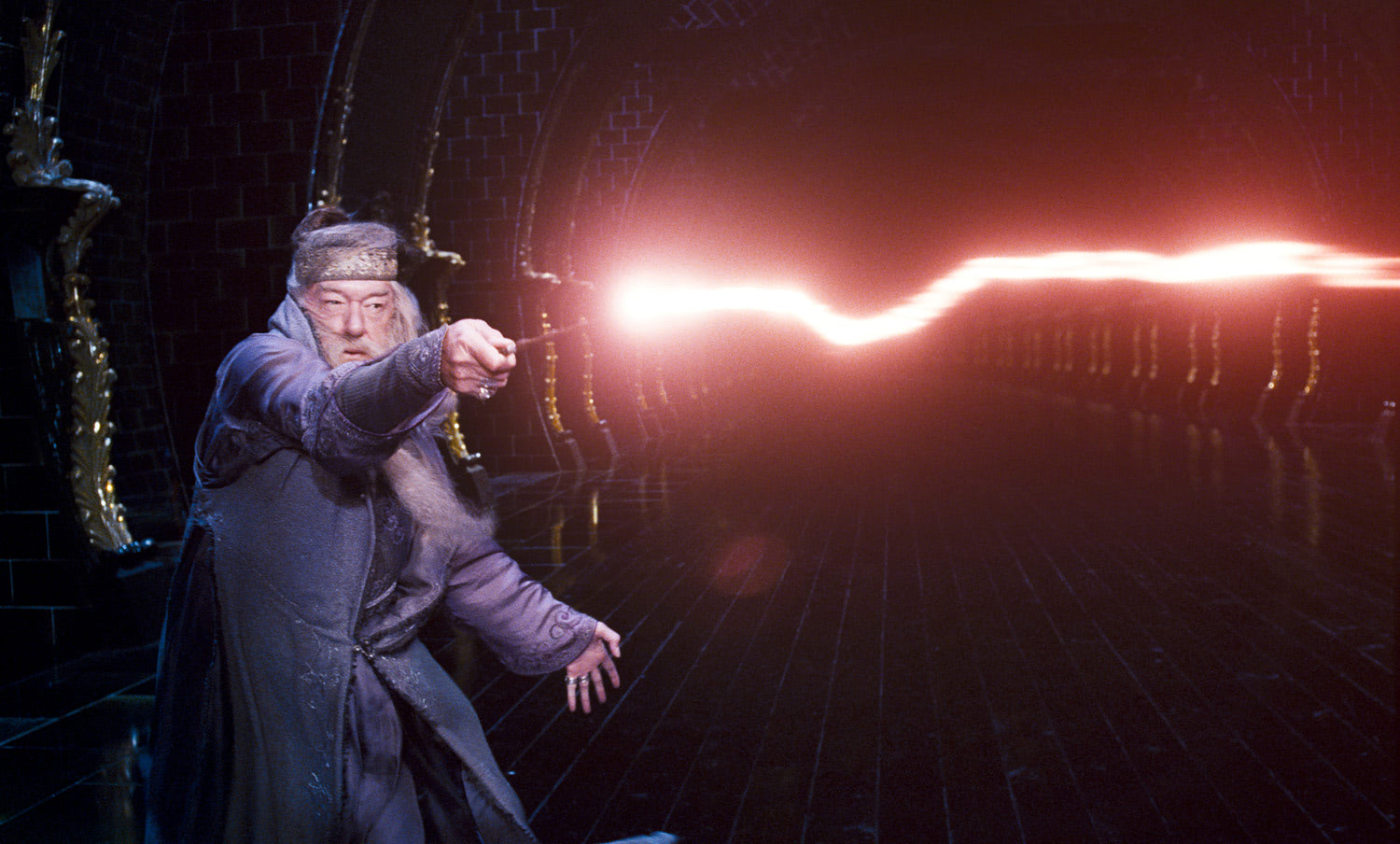 Dumbledore fights in the Ministry