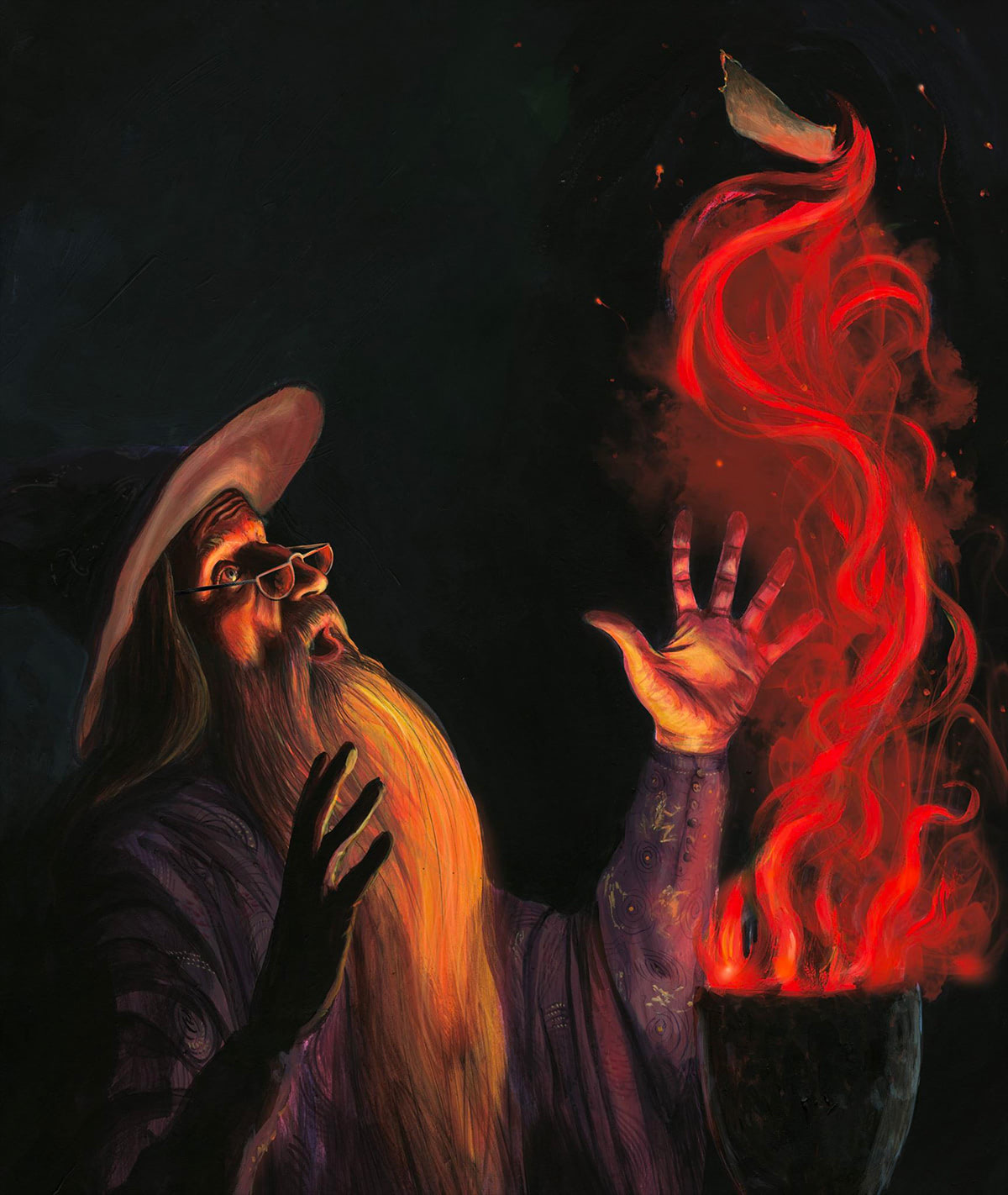 Dumbledore and the Goblet of Fire