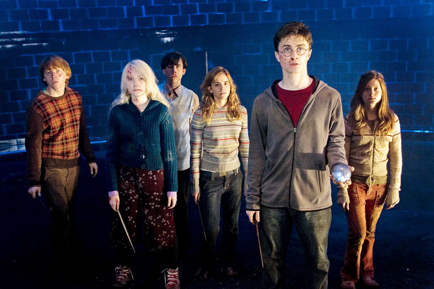Dumbledore's Army in the Ministry of Magic