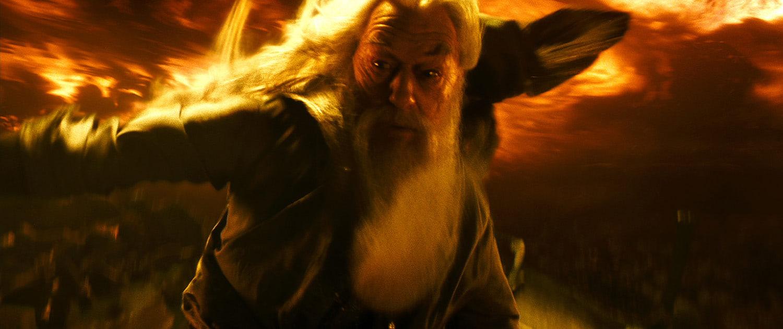 Dumbledore's firestorm