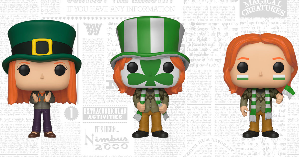 Funko unveil three new 'Harry Potter' Pop! Vinyl figures ahead of Emerald City Comic Con