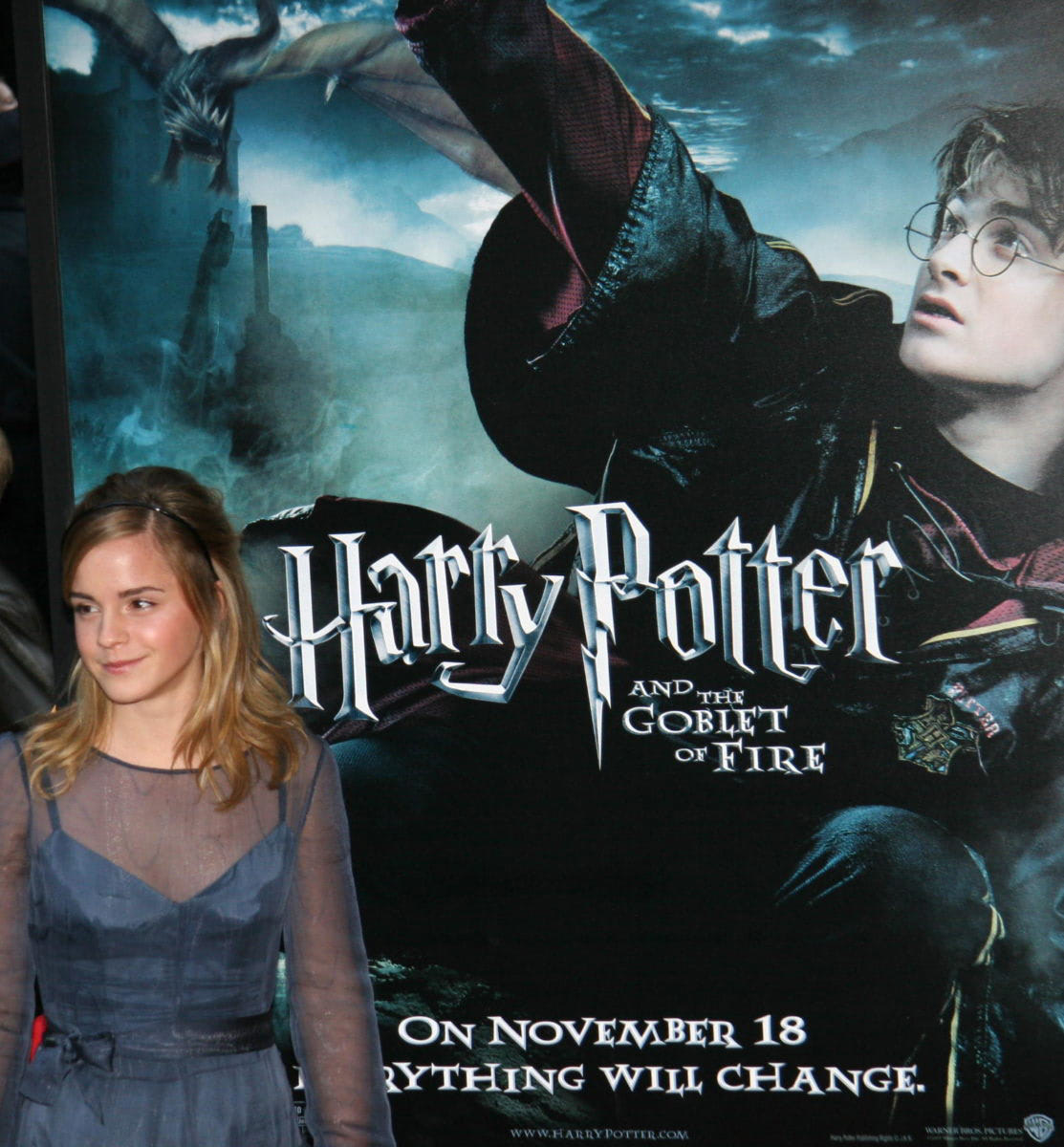 Emma Watson at the New York City 'Goblet of Fire' premiere
