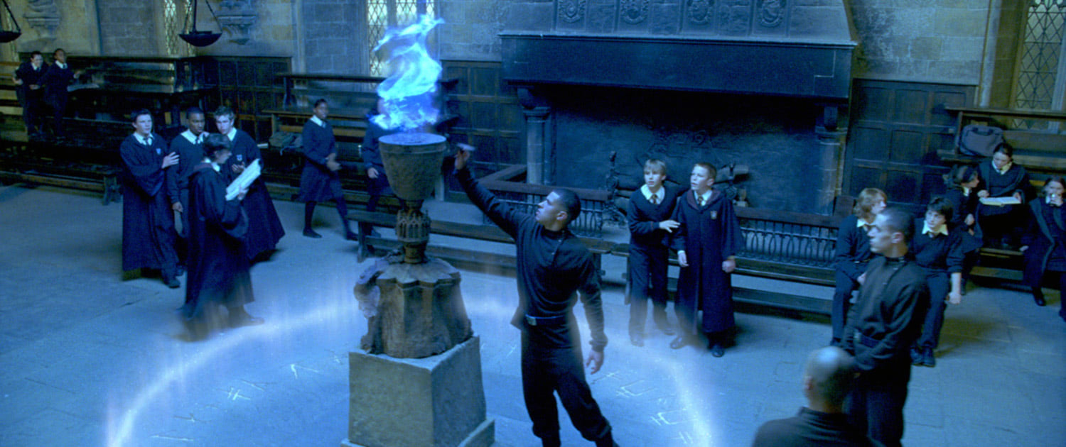 Entering the Triwizard Tournament