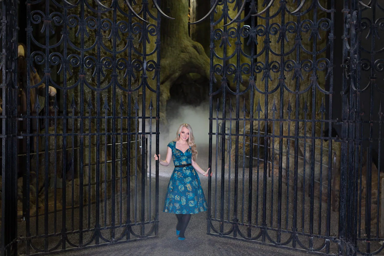 Evanna Lynch at the Forbidden Forest expansion