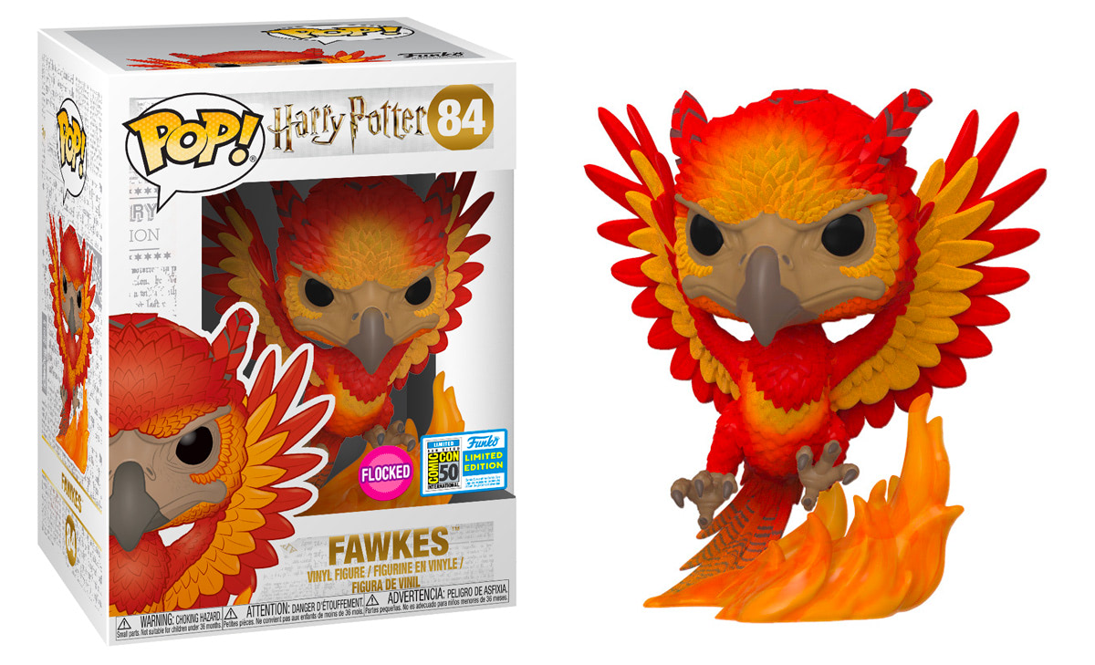 #84 Fawkes (Flocked)