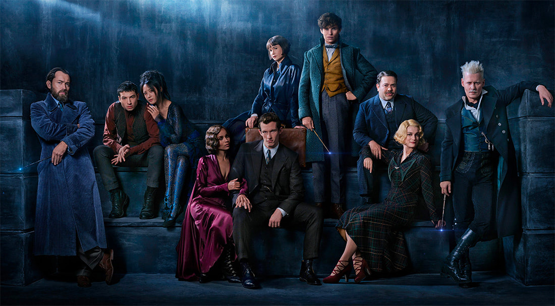 'Fantastic Beasts: The Crimes of Grindelwald' cast photo