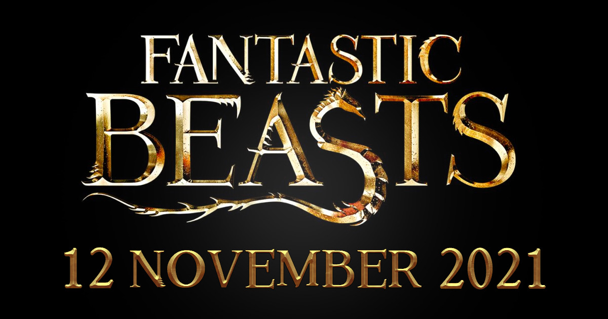 The third 'Fantastic Beasts' film will be released on 12 November 2021.