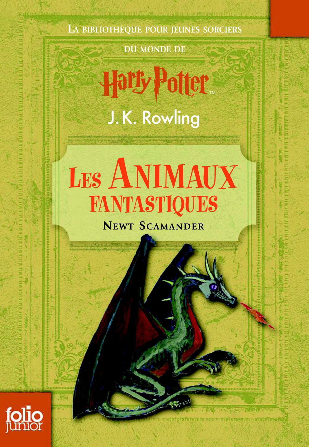 'Fantastic Beasts and Where to Find Them' French edition