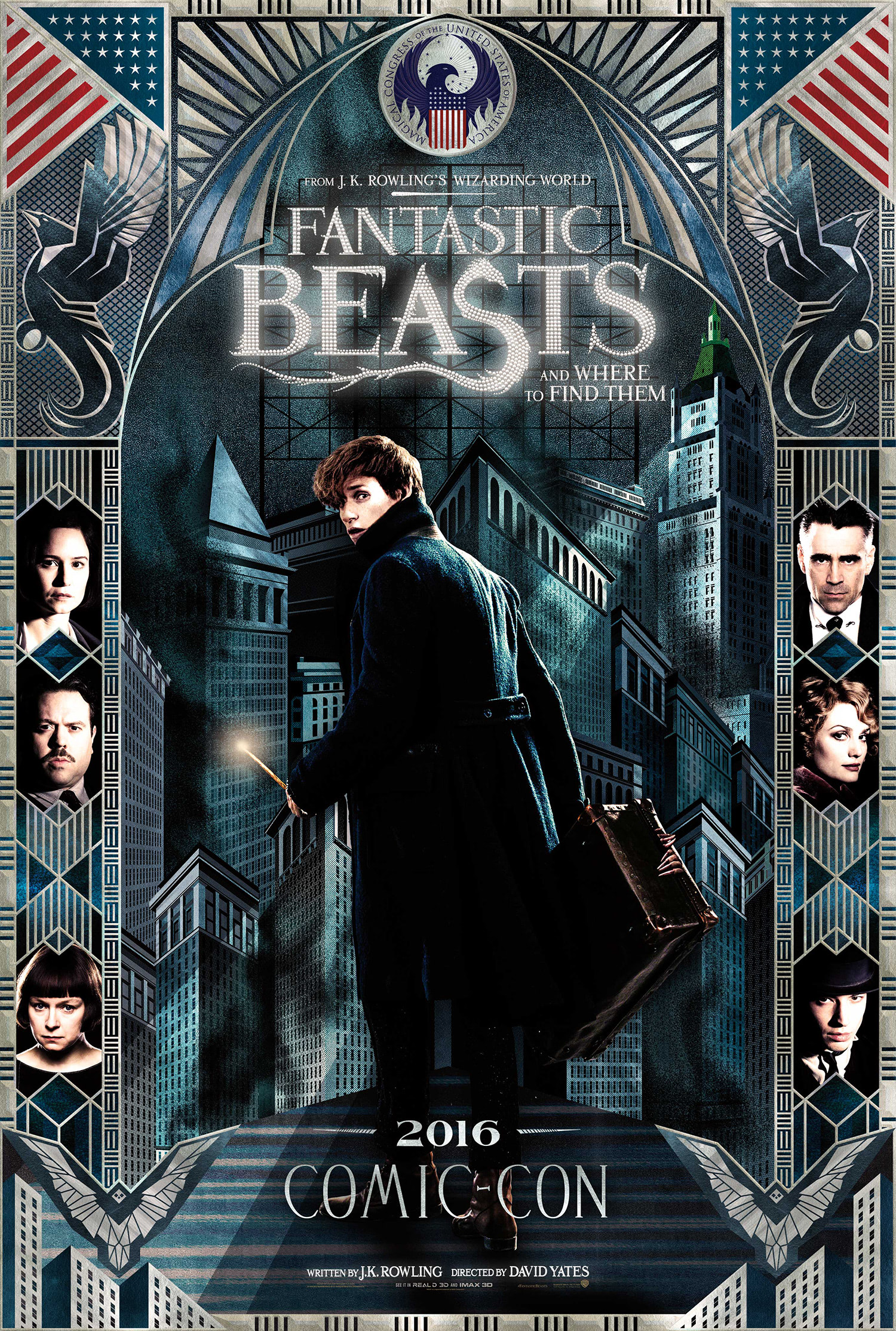 'Fantastic Beasts' Comic Con poster