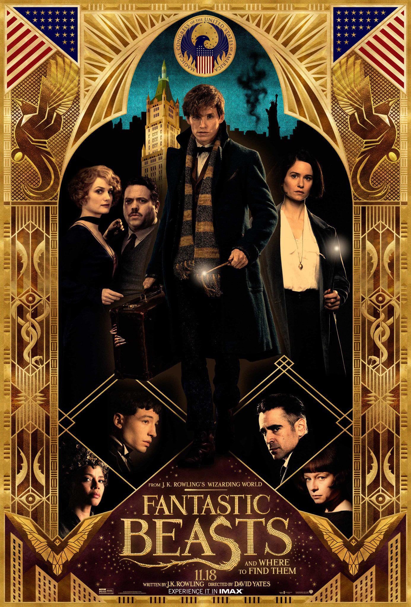 'Fantastic Beasts and Where to Find Them' fan event poster