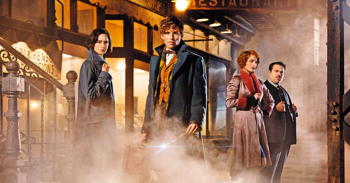 Entertainment Weekly previews 'Fantastic Beasts', reveals the first images from the set