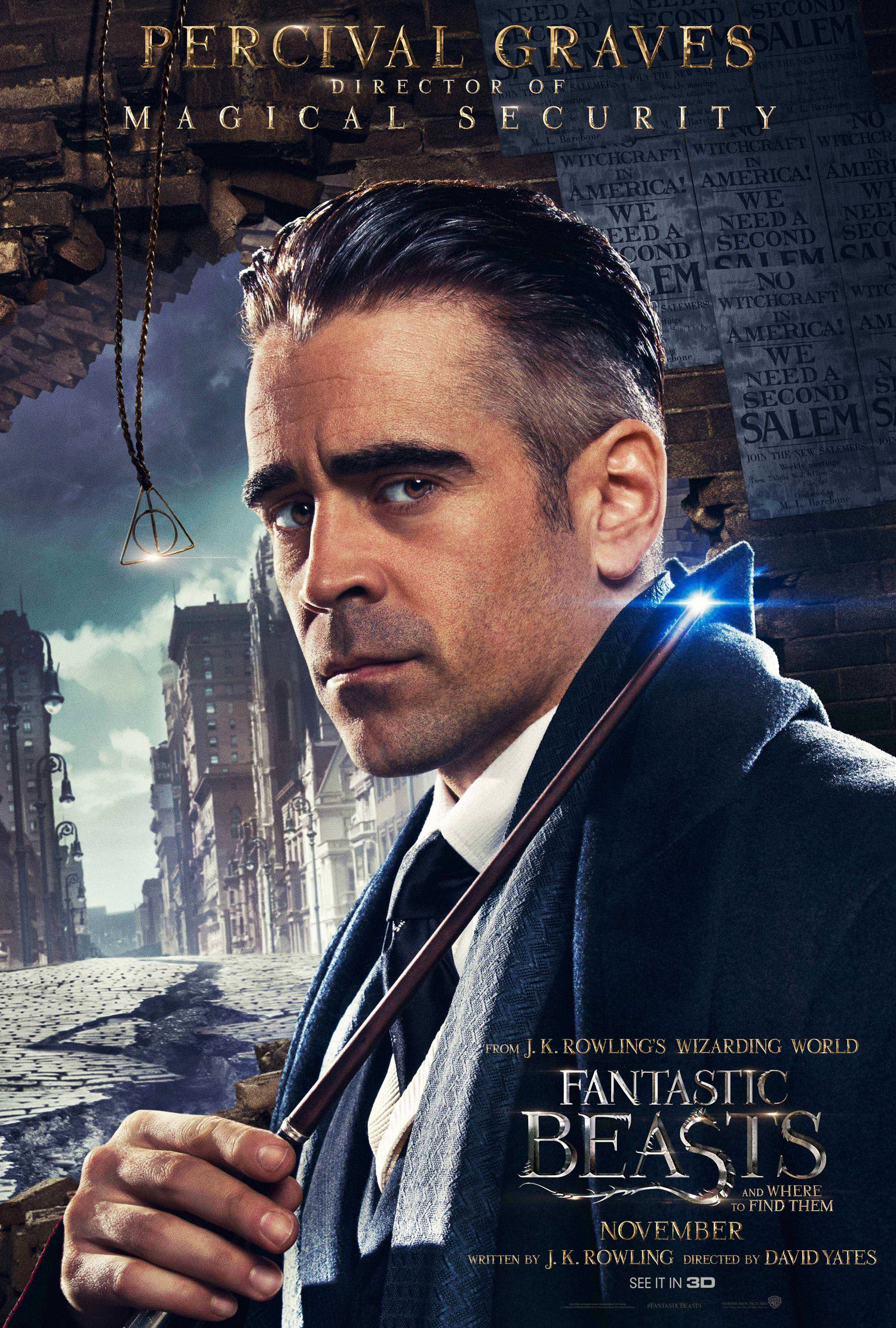 'Fantastic Beasts and Where to Find Them' Graves poster