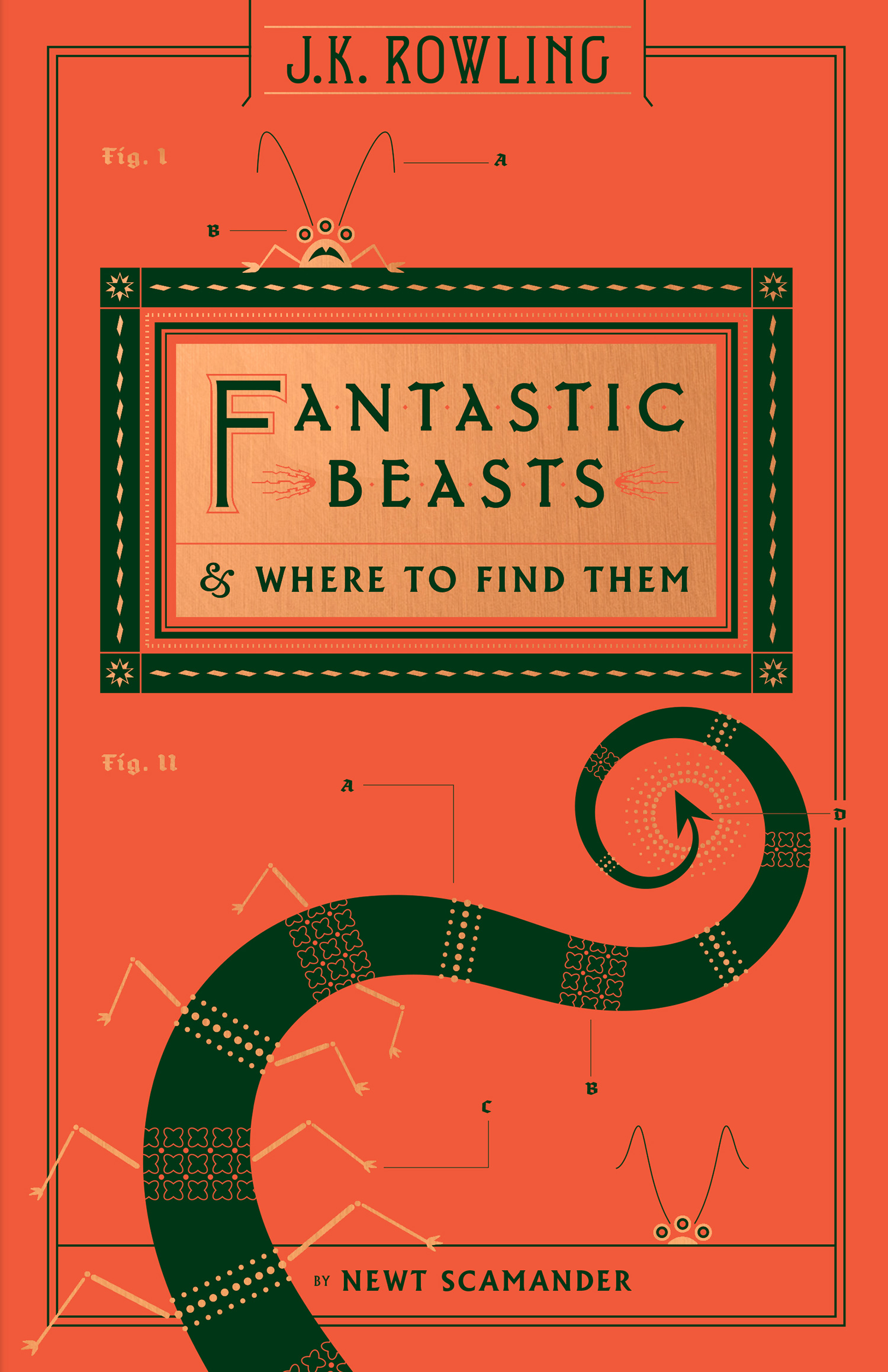 'Fantastic Beasts and Where to Find Them' Hogwarts Library edition (US)