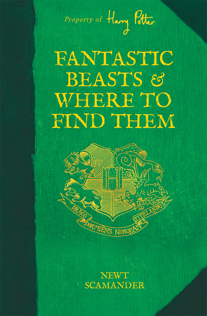 'Fantastic Beasts and Where to Find Them' Hogwarts Library edition (UK)
