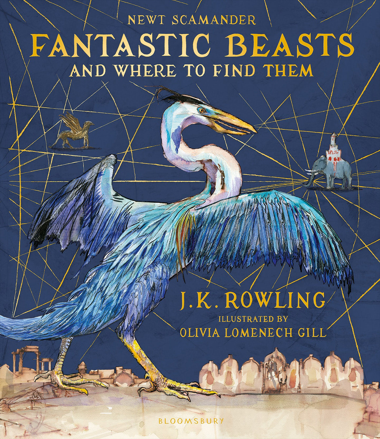 'Fantastic Beasts and Where to Find Them' illustrated edition (UK)