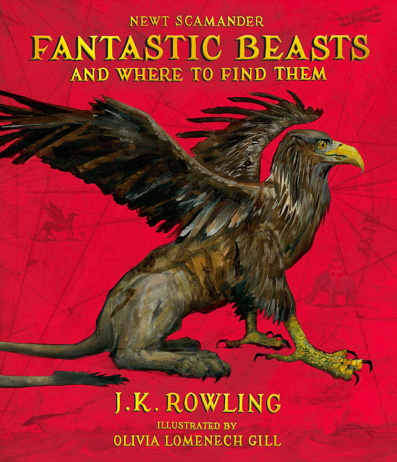 'Fantastic Beasts and Where to Find Them' illustrated edition (US)